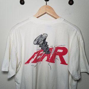 Vintage 1992 No Fear Screw Fear Graphic Tee XL